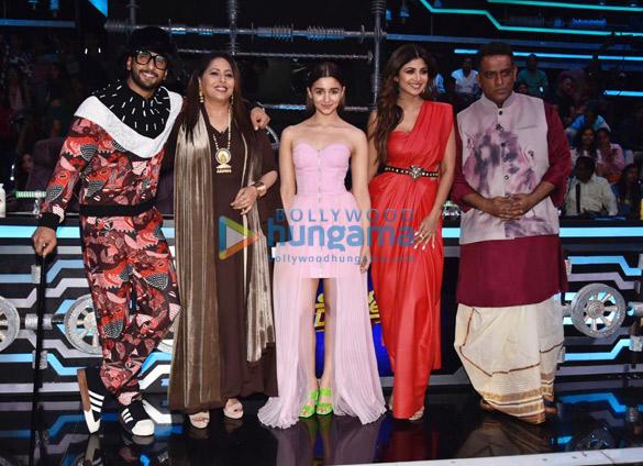 Ranveer Singh and Alia Bhatt promote Gully Boy on Super Dancer Chapter 3 (4)
