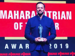 Rohit Shetty bags Maharashtrian Of The Year and Entertainment Trendsetter honours at Lokmat Awards 2019