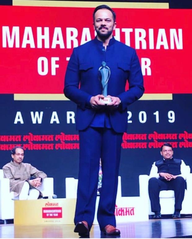 Rohit Shetty bags Maharashtrian Of The Year and Entertainment Trendsetter honours at Lokmat Awards 2019