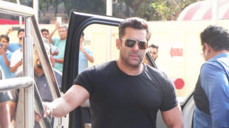 SPOTTED Salman Khan at Trailer Launch of Film Notebook