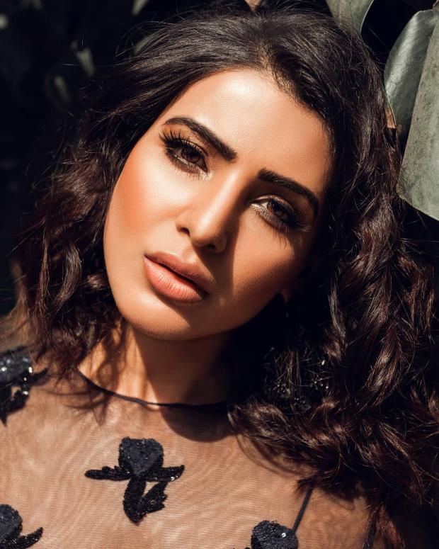 Samantha Akkineni in Sunaina Khera for a photoshoot (1)