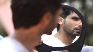Shahid Kapoor shares a still from Kabir Singh and we can't wait to see more