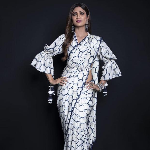Shilpa Shetty in Punit Balana for Super Dancer Chapter 3 (4)
