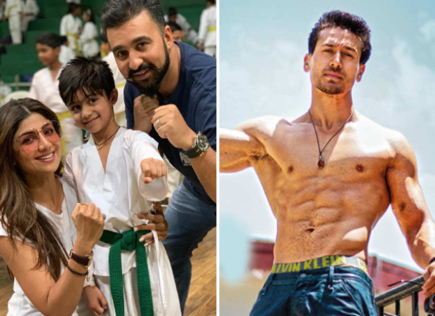 Shilpa Shetty's son wins gold medal in Taekwondo and dedicates it to his inspiration Tiger Shroff