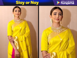 Slay or Nay - Rakul Preet Singh in Raw Mango for TSR TV9 National Film Awards (Featured)
