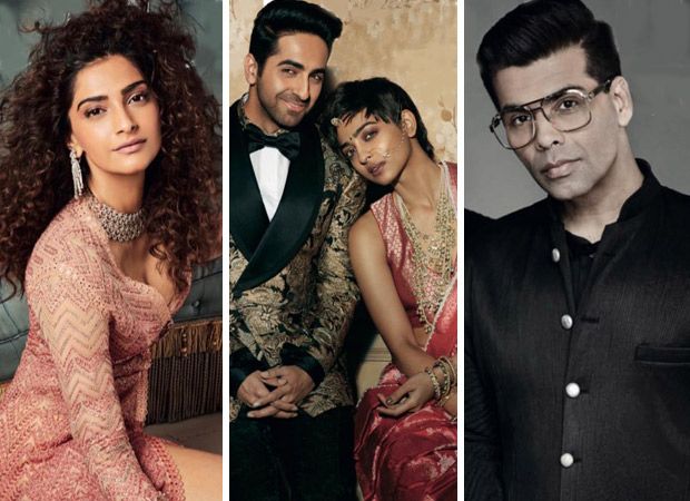 Sonam Kapoor Ahuja, Ayushmann Khurrana, Radhika Apte, Karan Johar for Brides Today covers (Featured)
