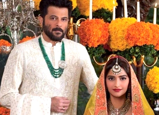 Anil Kapoor expresses his love for Sonam Kapoor in the cutest way!