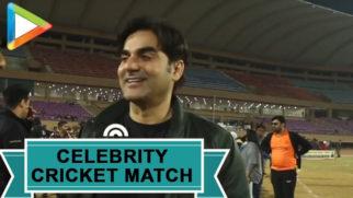 Star-Studded Celebrity Cricket Match at JIFFA 2019 Arbaaz Khan Rohit Roy
