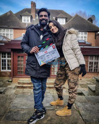 on the set of the movie Street Dancer 3D