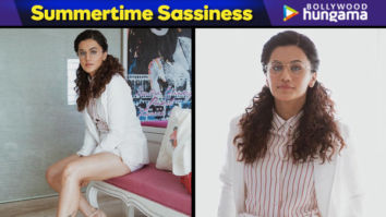 Summertime Sassiness - Taapsee Pannu in Urth Label for Badla promotions (Featured)