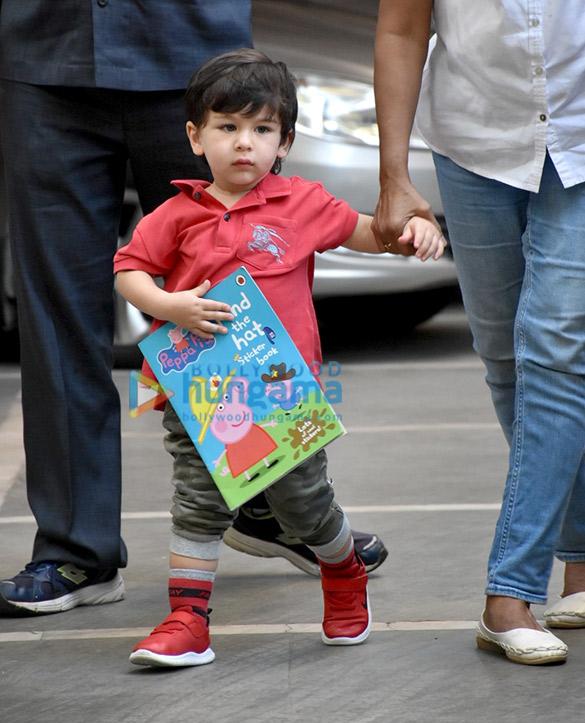 Taimur Ali Khan spotted at playschool (1)