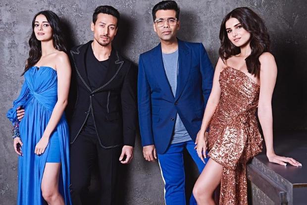 Tiger Shroff, Tara Sutaria and Ananya Panday on Koffee With Karan (3)
