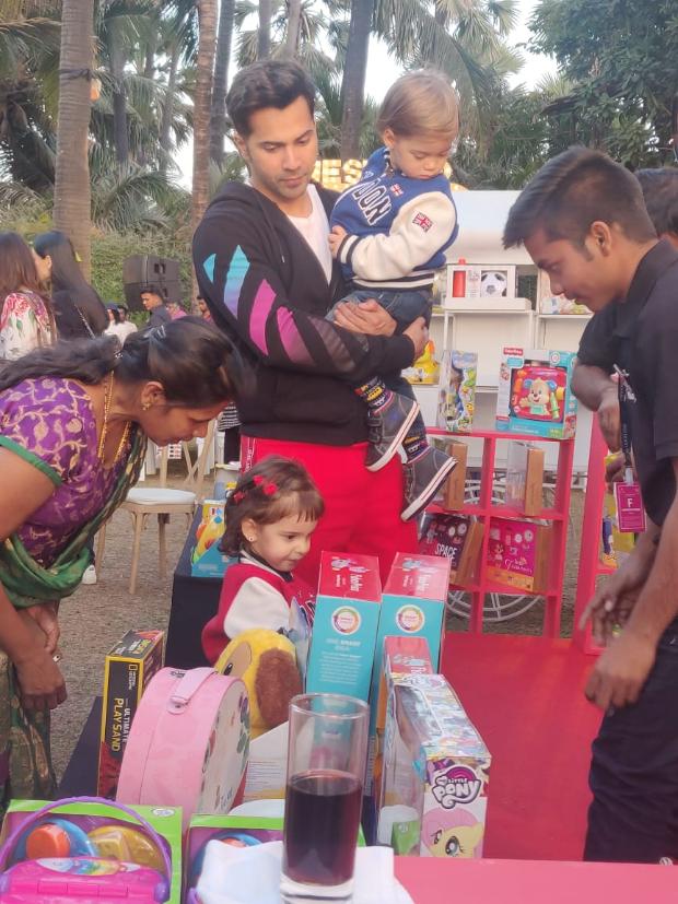 Varun Dhawan joins birthday celebrations of Karan Johar's twins Yash and Roohi