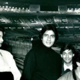 Amitabh Bachchan's throwback picture of Salman Khan, Aamir Khan and Sridevi from Wembley is straight-up nostalgic