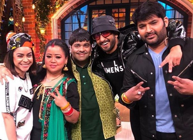 Ranveer Singh can't get enough of Deepika Padukone even as Kapil Sharma goes live with Alia Bhatt