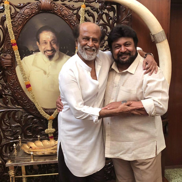 Rajinikanth and Prabhu come together in this picture and it is for Soundarya Rajinikanth's wedding!