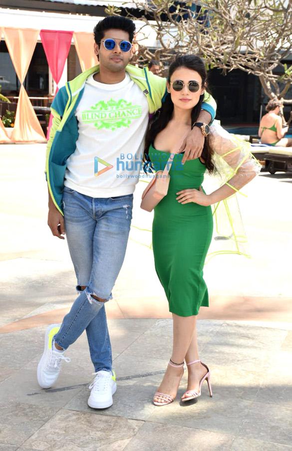 Abhimanyu Dassani and Radhika Madan snapped during Mard Ko Dard Nahi Hota promotions