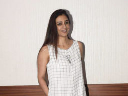 Actress Tabu Spotted watching movie 22 Yards