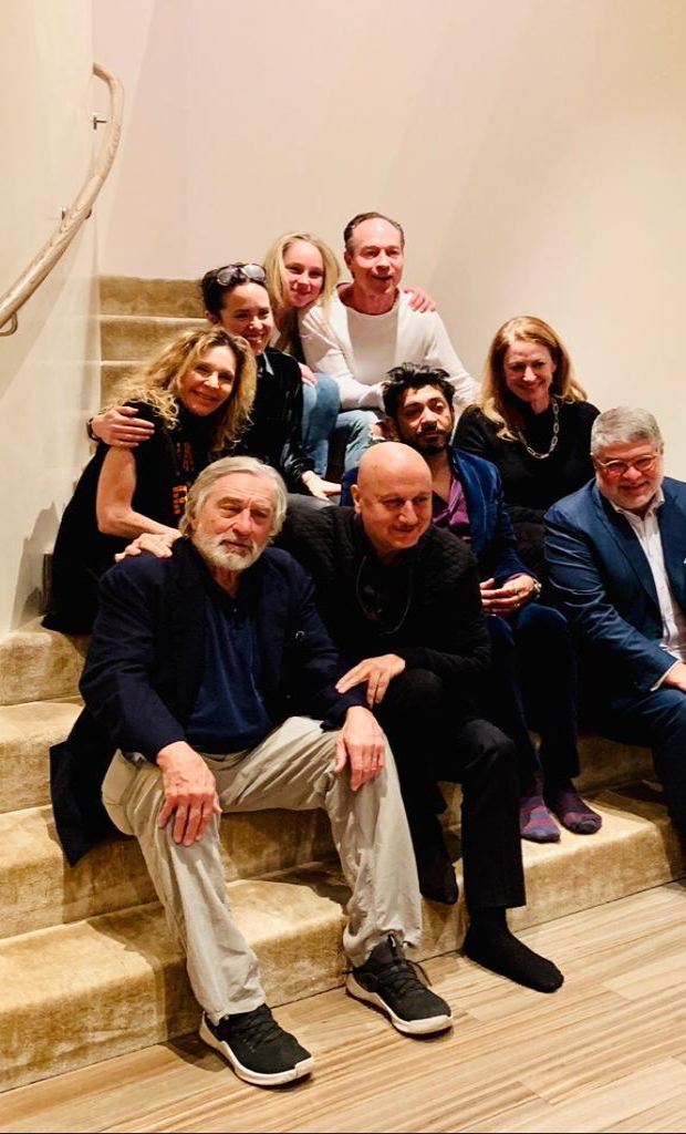 Anupam Kher rings in his birthday with Hollywood legend Robert DeNiro in New York
