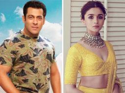 BREAKING: Salman Khan and Alia Bhatt come together for Sanjay Leela Bhansali's next directorial