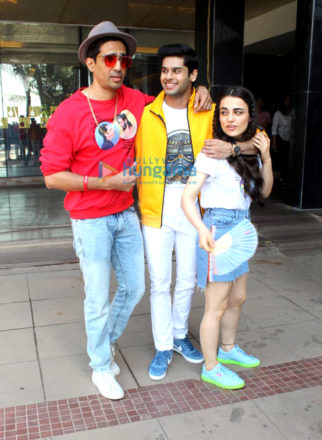 Celebs snapped promoting the film Mard Ko Dard Nahi Hota at Novotel, Juhu