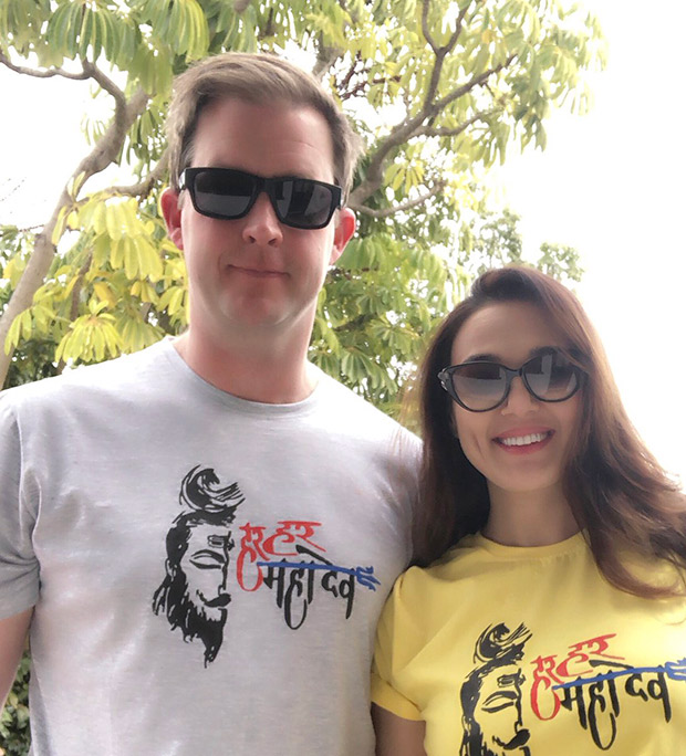 Preity Zinta shares this CUTE post with hubby Gene Goodenough on Mahashivratri