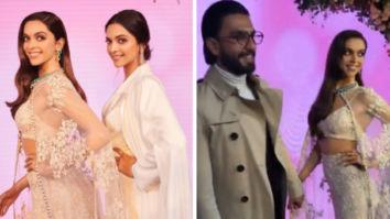 Deepika Padukone unveils her stunning Madame Tussauds wax statute in London, Ranveer Singh accompanies her