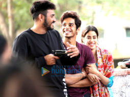 On The Sets from the movie Dhadak