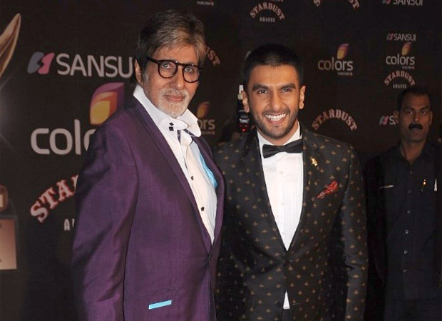 Amitabh Bachchan has a piece of fashion advice for Ranveer Singh and it involves stylish shades!