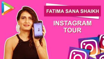 Fatima Sana Shaikh Instagram Tour S01E13 Bollywood Hungama