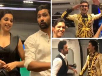 Filmfare Awards 2019: Ranveer Singh, Deepika Padukone, Ranbir Kapoor, Vicky Kaushal give 'FIRST CLASS' shoutout to Alia Bhatt and Varun Dhawan