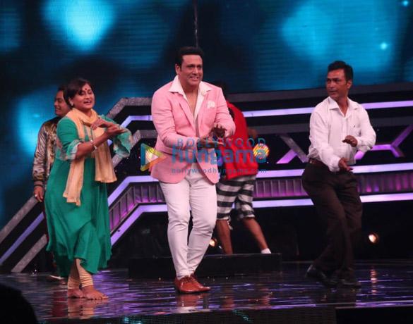 Govinda and Shakti Kapoor snapped on the sets of Super Dancer Chapter 3 (1)