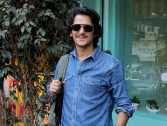 Gully Boy actor Vijay Varma spotted at an event in Juhu