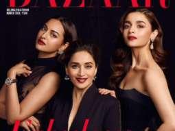 Sonakshi Sinha, Madhuri Dixit, Alia Bhatt On The Covers Of Harper's Bazaar