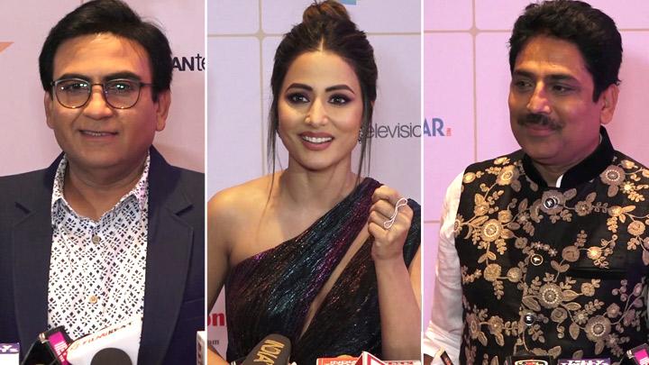 Hina Khan, Tarak Mehta Ka Ooltah Chashmah Cast & others at Indian Telly Awards 2019