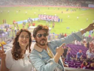 IPL 2019: Shah Rukh Khan and Juhi Chawla REUNITE to cheer for Kolkata Knight Riders