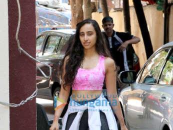 Janhvi Kapoor, Malaika Arora, Mishika Chourasia, Giorgia Andriani and Namrata Purohit spotted outside the gym in Khar