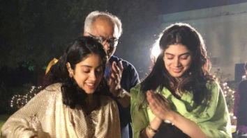Janhvi Kapoor rings in her 22nd birthday with maha aarti on the banks of Ganga, Boney Kapoor and Khushi Kapoor join her at Taj Nadesar Palace