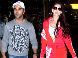 Kangana Ranaut, Nora Fatehi, Rajkummar Rao & others SPOTTED at Airport, Mumbai