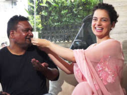 MUST WATCH Kangana Ranaut celebrates Birthday with Fans and Cameraman