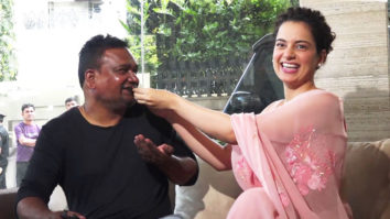 MUST WATCH Kangana Ranaut celebrates Birthday with Fans and Cameraman
