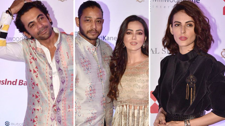Melvin Louis, Sunil Grover, Mandana Karimi & others at Payal Singhal's New Collection Launch Sanat