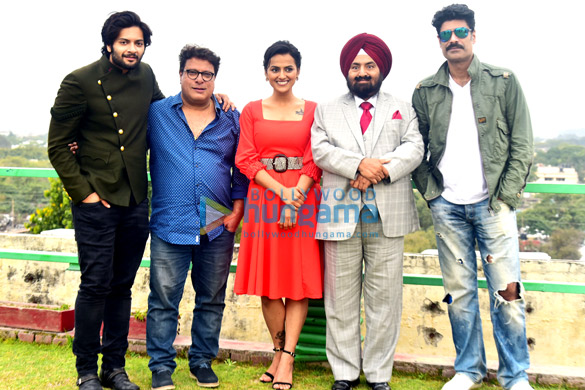 Milan Talkies team promote the film in Chandigarh