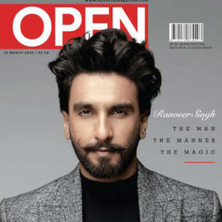 Ranveer Singh On The Covers Of Open Magazine