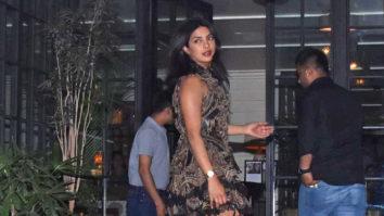 Priyanka Chopra SPOTTED at Soho House, Juhu