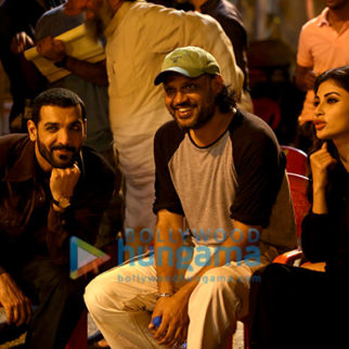 On The Sets Of The Movie Romeo Akbar Walter