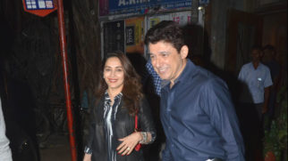 SPOTTED Madhuri Dixit with husband at Pali Bhavan