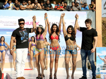 Sahil Khan at the glamorous fitness event 'Body Power Beach Body' in Goa