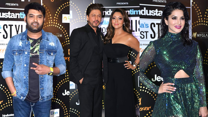 Shah Rukh Khan, Kapil Sharma, Sunny leone & others at HT India's Most Stylish Awards 2019