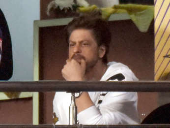 Shah Rukh Khan snapped at Eden Gardens during Kolkata Knight Riders match at IPL 2019